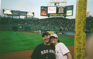 Red Sox Photo - Engagement