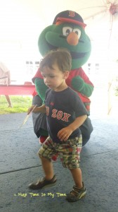 wordless wednesday – meeting wally the green monster