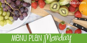 menu plan monday – week 12
