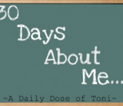 30 days about me – day 20