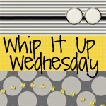 Share your favorite #handmade project with the Whip It Up Wednesday linky party!