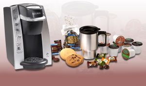 plum district: great deal on Keurig coffee maker set