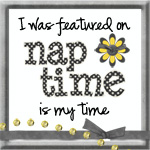 be a guest blogger on Nap Time is My Time