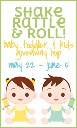 win a BabyOta swaddle blanket in the Shake, Rattle, Roll giveaway hop (US only)