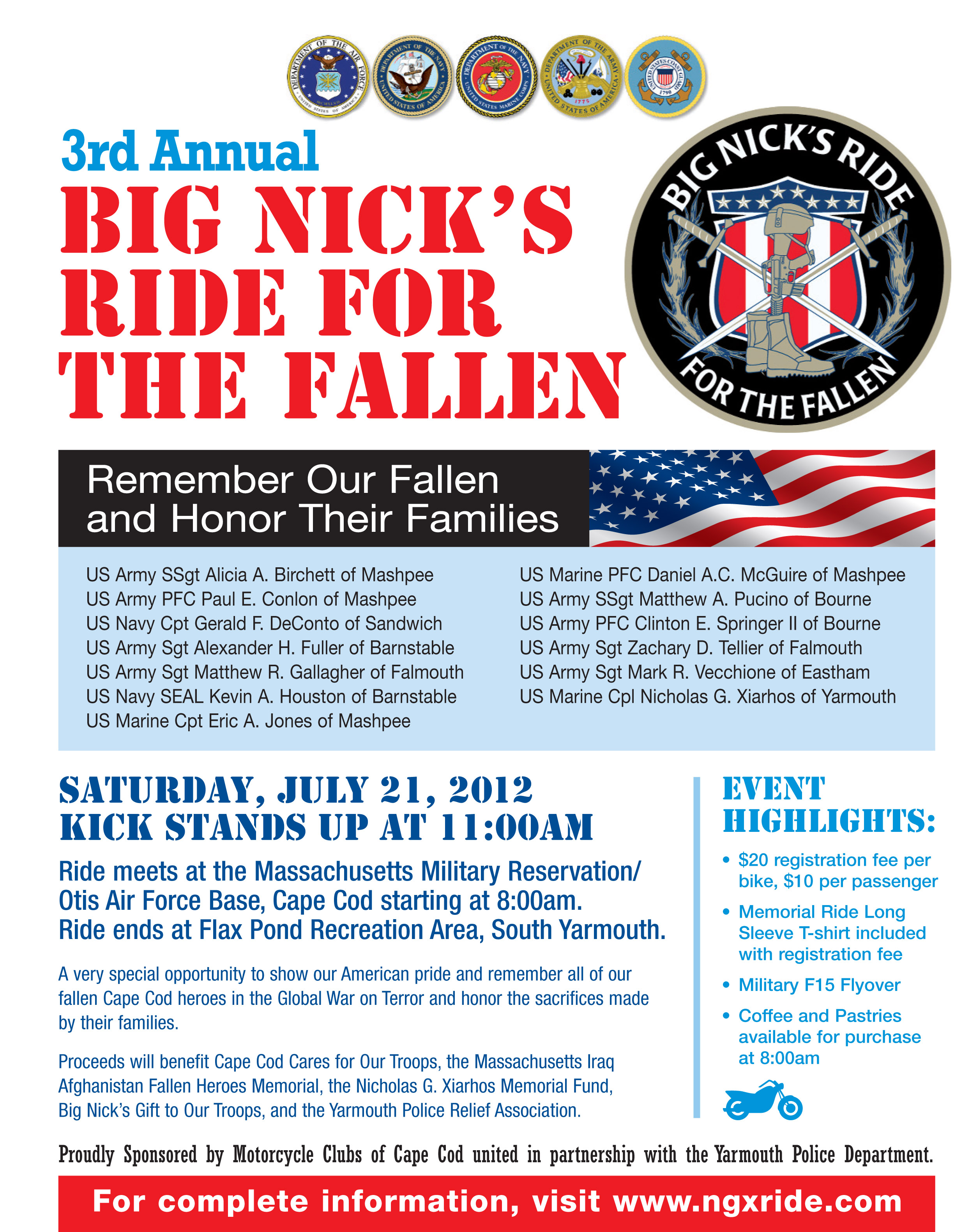 Big Nicks Ride flyer 2012
