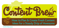 Gift Idea for Bloggers: Content Brew e-course