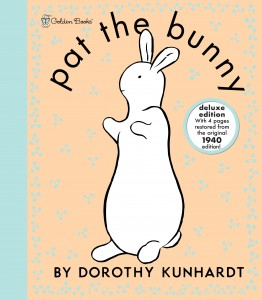 win a deluxe edition of Pat the Bunny!
