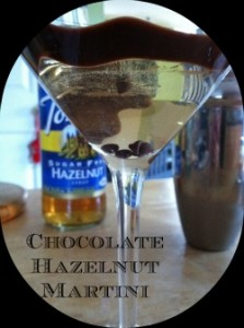 Holidays Made Easy with a Torani Chocolate Hazelnut Martini