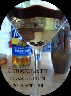 Chocolate Hazelnut Martini