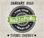 January NaBloPoMo