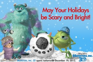 Happy Holidays from Monsters, Inc. 3D