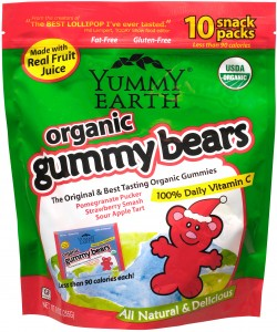 Yummy Earth Christmas Gummy Bears