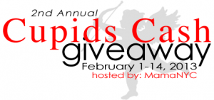 Win $500 in the Cupids Cash Giveaway