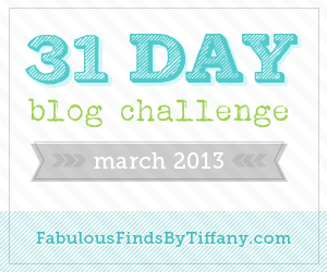 31 Day Blog Challenge March