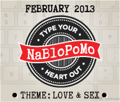 February NaBloPoMo