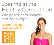 Shaklee180 program helps you lose weight!