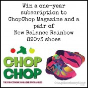 Win New Balance Rainbow Shoes and ChopChop Magazine