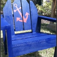 DIY Toddler Adirondack Chair