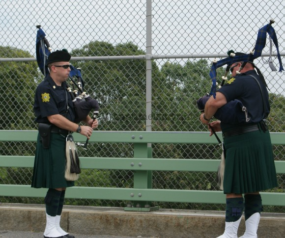 Bag Pipes at NGX Ride