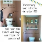 Our $16 Bathroom Spruce Up