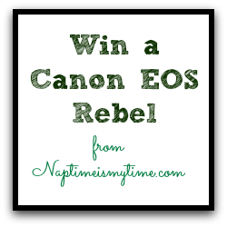 Win a Canon EOS Rebel T3i