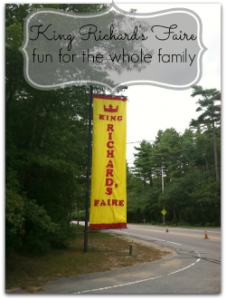 Family Fun at King Richards Faire