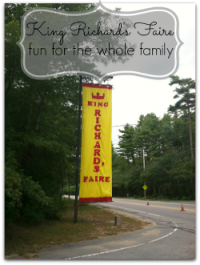King Richards Faire fun for the whole family #ad