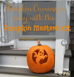 Ghostly Carving #PumpkinMasterKit #ad