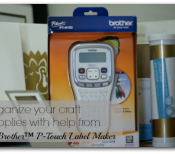 Organize your life with Brother PTouch #Ptouch25 #sponsored
