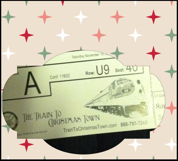 Train to Christmas Town Tickets #weekinphotos