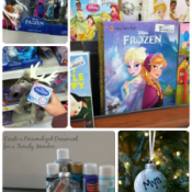 Inspired by Disney's FROZEN the movie, we made a personalized ornament for a family member. #FROZENfun #shop #cbias