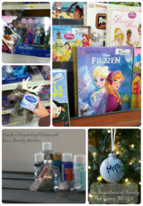 Personalized Ornaments Inspired by Disney's FROZEN the movie