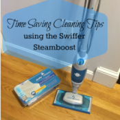 Time Saving Cleaning Tips with #steamboost #ad