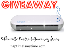 Enter to win a Silhouette Portrait from naptimeismytime.com