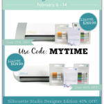AMAZING Silhouette Discounts for February and a Giveaway!
