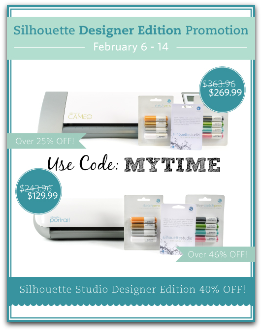 Great Savings on Silhouette Bundles use the code MYTIME to save! #ad