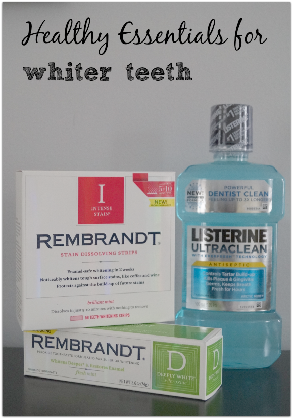 Healthy Essentials for Whiter Teeth #Moms4JNJConsumer #ad