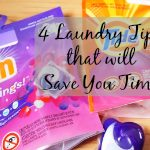 4 Laundry Tips to Save Time