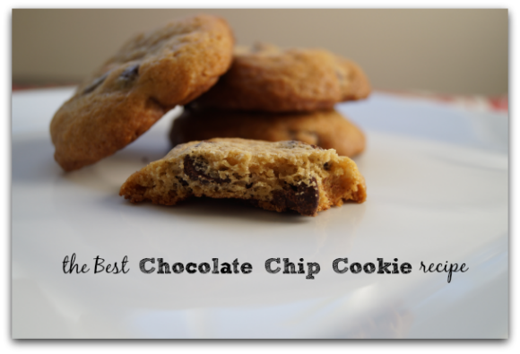 This is the best chocolate chip cookie recipe! Once you make this chocolate chip cookie recipe, you'll never buy store bought cookies again!
