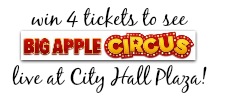 Enter to win the Big Apple Circus Ticket Giveaway today! The new Big Apple Circus METAMORPHOSIS show is certain to be a big hit for fans of all ages!