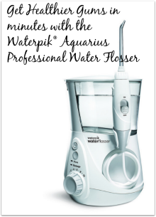 Get Healthier Gums with the Waterpik Aquarius Professional Water Flosser