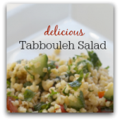 This tabbouleh recipe is simple, easy, and delicious!