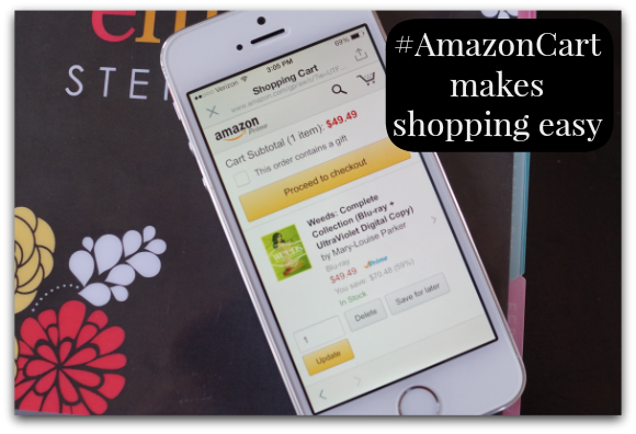 Making Life Easy with #AmazonCart