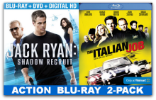 Father's Day Gift Idea: Movie Lovers Gift Basket featuring Jack Ryan: Shadow Recruit