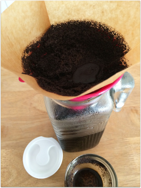 Making small batch cold brew coffee is easier than you may think. It takes a bit of time, but this recipe will make you wonder why you didn't try it before!