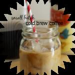 Simple Small Batch Cold Brew Coffee Recipe