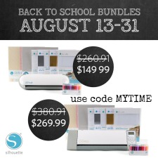 Back to School Savings on Silhouette Bundles