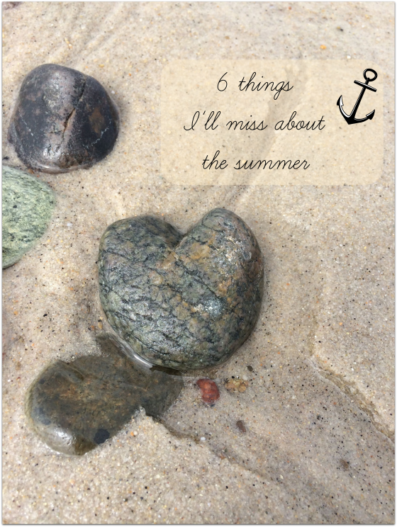 6 things I will miss about summer #capecodsummer