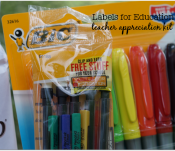 Looking for a great teacher appreciation gift while supporting Labels for Education and your child's school? I have you covered! #Labels4Edu #Shop