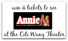 Annie the Musical at the Citi Wang Theater